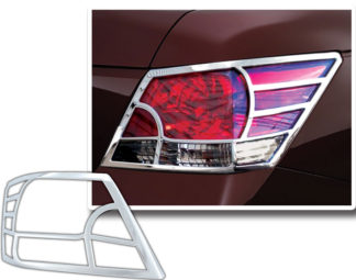 ABS Chrome Tail Light Bezel 2008 - 2010 Honda Accord