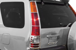 ABS Chrome Tail Light Bezel 2002 - 2006 Honda CRV