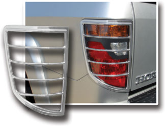 ABS Chrome Tail Light Bezel 2006 - 2012 Honda Ridgeline