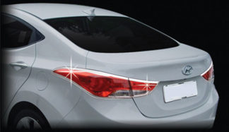 ABS Chrome Tail Light Bezel 2011 - 2016 Hyundai Elantra