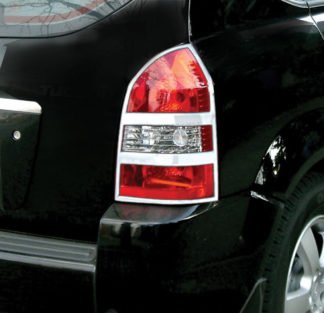 ABS Chrome Tail Light Bezel 2005 - 2009 Hyundai Tucson