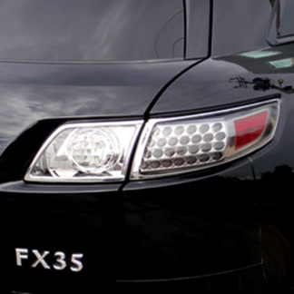 ABS Chrome Tail Light Bezel 4-Pc 2003 - 2008 Infiniti FX