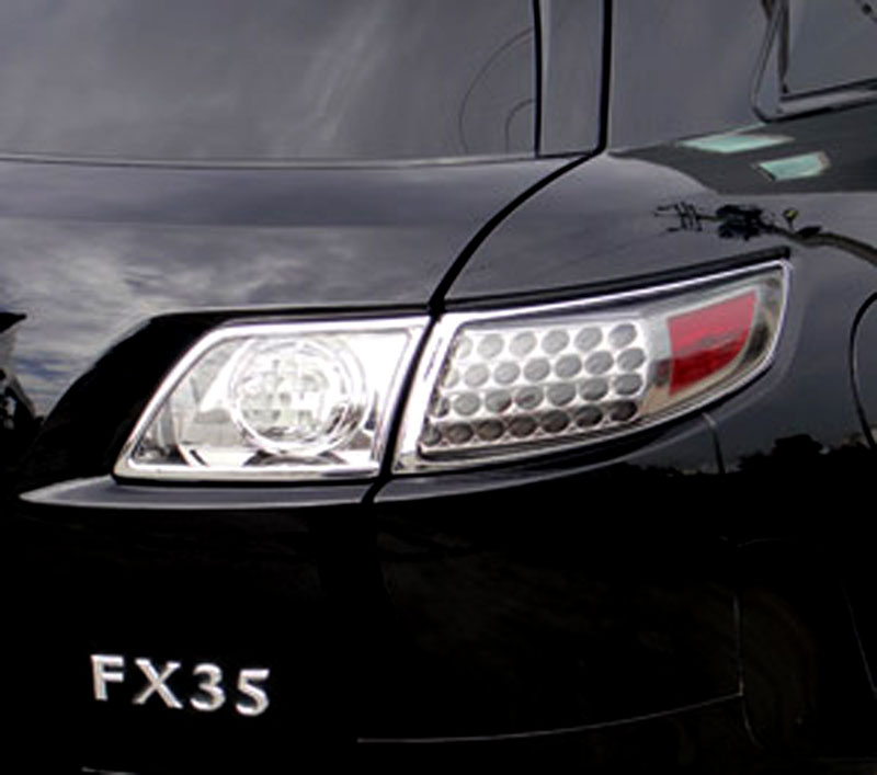 Luxury FX Chrome License Plate Bezel for 2010-2013 LaCrosse