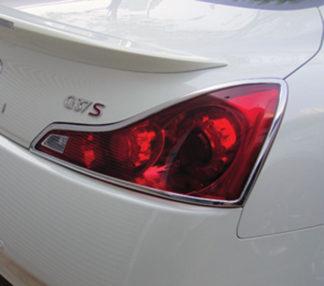 ABS Chrome Tail Light Bezel 2008 - 2012 Infiniti G-Series