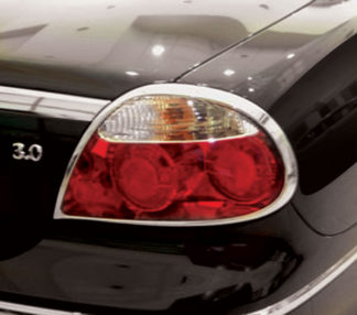 ABS Chrome Tail Light Bezel 2005 - 2008 Jaguar S-Type