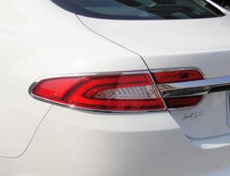 ABS Chrome Tail Light Bezel 6-Pc 2012 - 2013 Jaguar XF