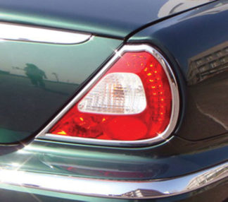 ABS Chrome Tail Light Bezel 2004 - 2009 Jaguar XJ