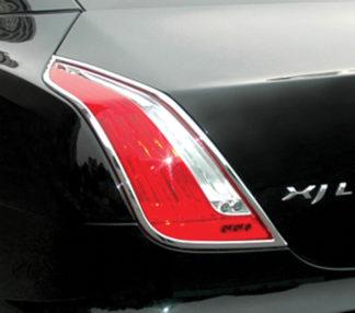 ABS Chrome Tail Light Bezel 2010 - 2013 Jaguar XJ