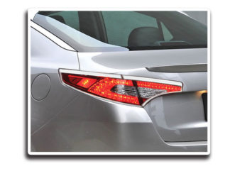 ABS Chrome Tail Light Bezel 4-Pc 2011 - 2013 Kia Optima