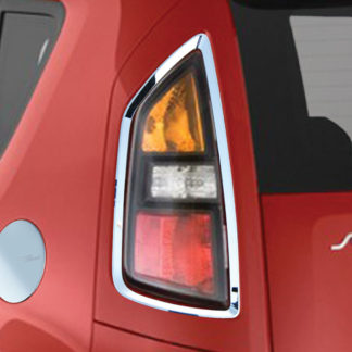 ABS Chrome Tail Light Bezel 2-Pc 2010 - 2013 Kia SOUL