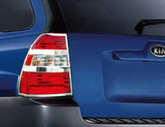ABS Chrome Tail Light Bezel 2005 - 2010 Kia Sportage