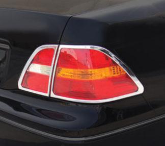 ABS Chrome Tail Light Bezel 4-Pc 2001 - 2003 Lexus LS