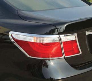 ABS Chrome Tail Light Bezel 4-Pc 2007 - 2009 Lexus LS