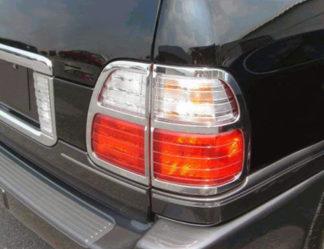 ABS Chrome Tail Light Bezel 4-Pc 1999 - 2005 Lexus LX