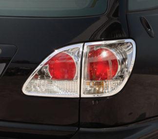 ABS Chrome Tail Light Bezel 4-Pc 1999 - 2003 Lexus RX