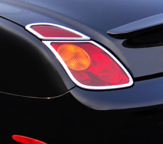 ABS Chrome Tail Light Bezel 4-Pc 2002 - 2005 Lexus SC