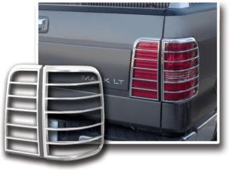 ABS Chrome Tail Light Bezel 4-Pc 2006 - 2008 Lincoln MarkLT
