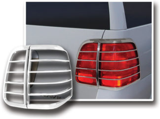 ABS Chrome Tail Light Bezel 4-Pc **SPECIAL** 2003 - 2006 Lincoln Navigator