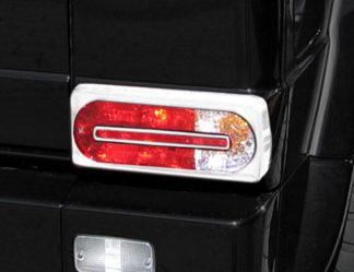 ABS Chrome Tail Light Bezel 2002 - 2013 Mercedes G-Class
