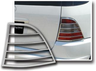 ABS Chrome Tail Light Bezel 1998 - 2005 Mercedes ML-Class