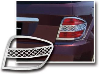 ABS Chrome Tail Light Bezel 2006 - 2011 Mercedes ML-Class