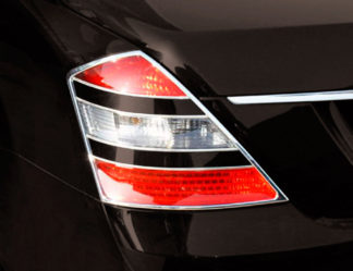 ABS Chrome Tail Light Trim 2007 - 2009 Mercedes S-Class