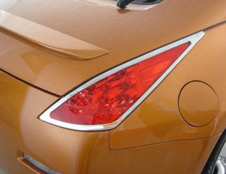 ABS Chrome Tail Light Bezel 2003 - 2008 Nissan 350Z