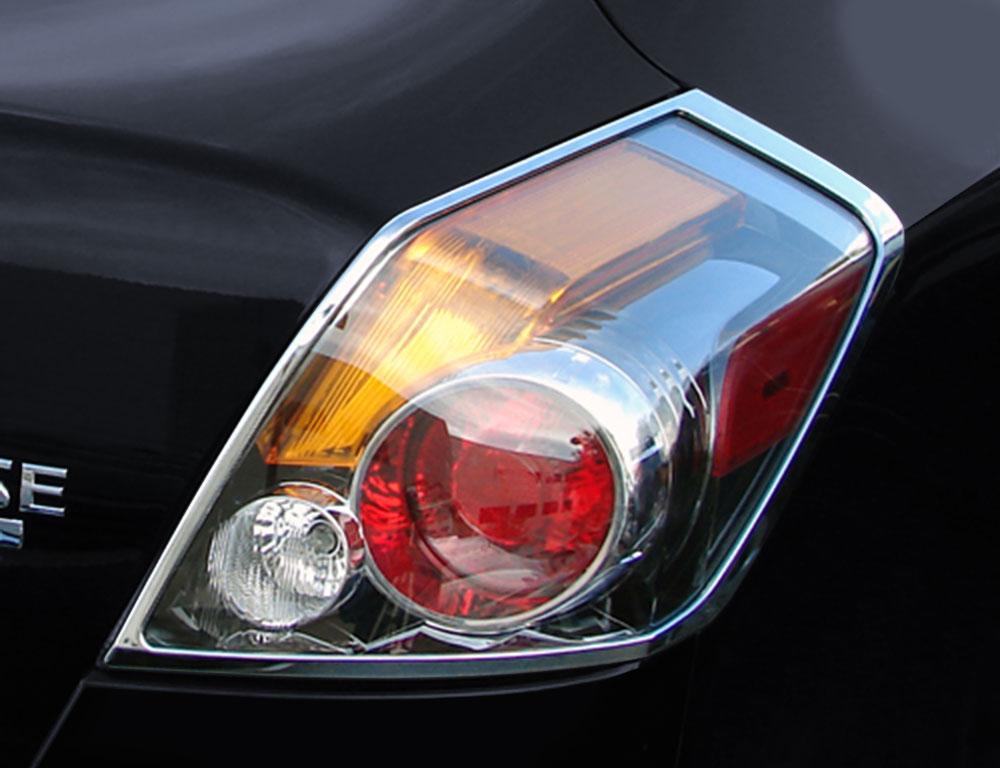 ABS Chrome Tail Light Bezel 2007 - 2012 Nissan Altima