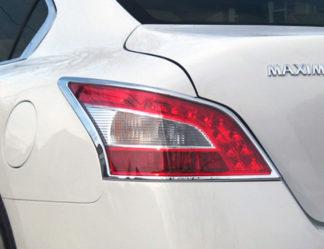 ABS Chrome Tail Light Bezel 2009 - 2012 Nissan Maxima
