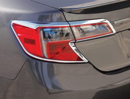 ABS Chrome Tail Light Bezel 2012 - 2014 Toyota Camry