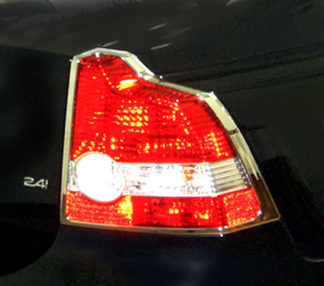 ABS Chrome Tail Light Bezel 2004 - 2011 Volvo S40-T50 | V50
