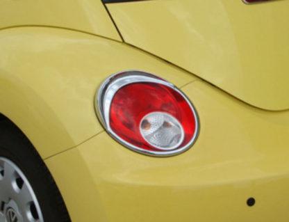 ABS Chrome Tail Light Bezel 2006 - 2010 Volkswagen Beetle