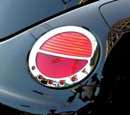 ABS Chrome Tail Light Bezel 1998 - 2005 Volkswagen Beetle
