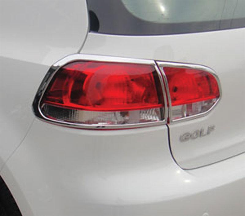 ABS Chrome Tail Light Bezel 4-Pc 2010 - 2014 Volkswagen Golf6 | GTI