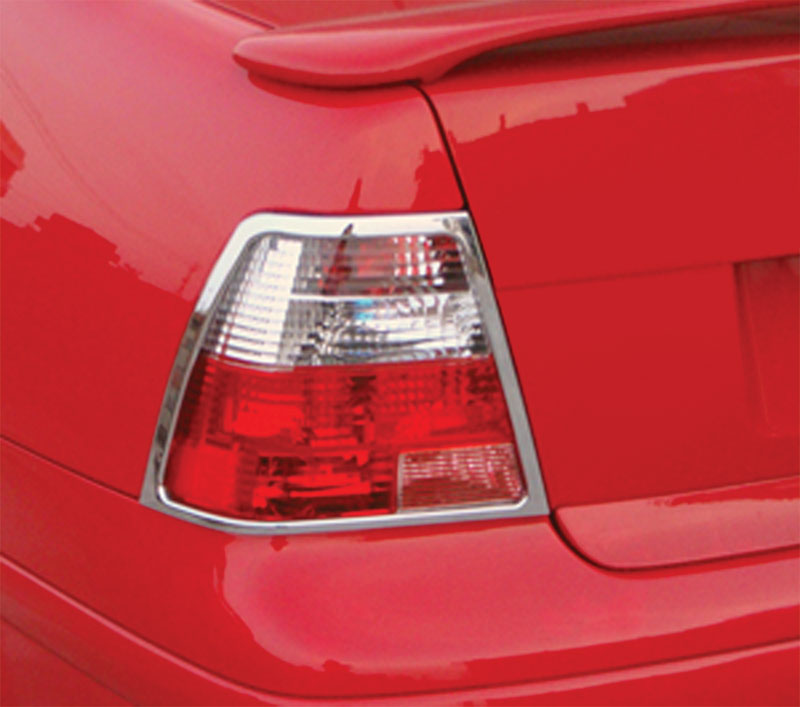 ABS Chrome Tail Light Bezel 1999 - 2004 Volkswagen Jetta