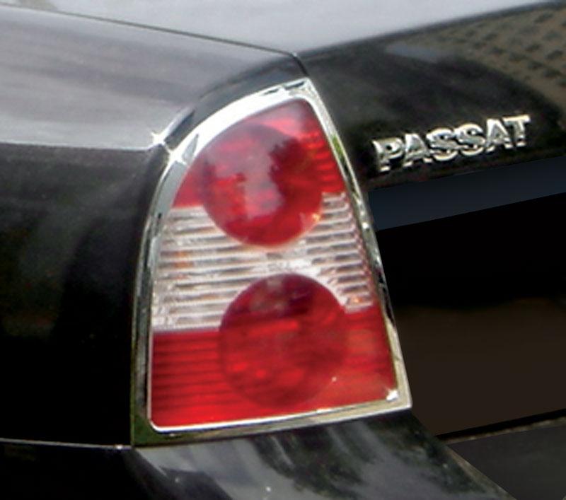 ABS Chrome Tail Light Bezel 2001 - 2005 Volkswagen Passat-Sedan