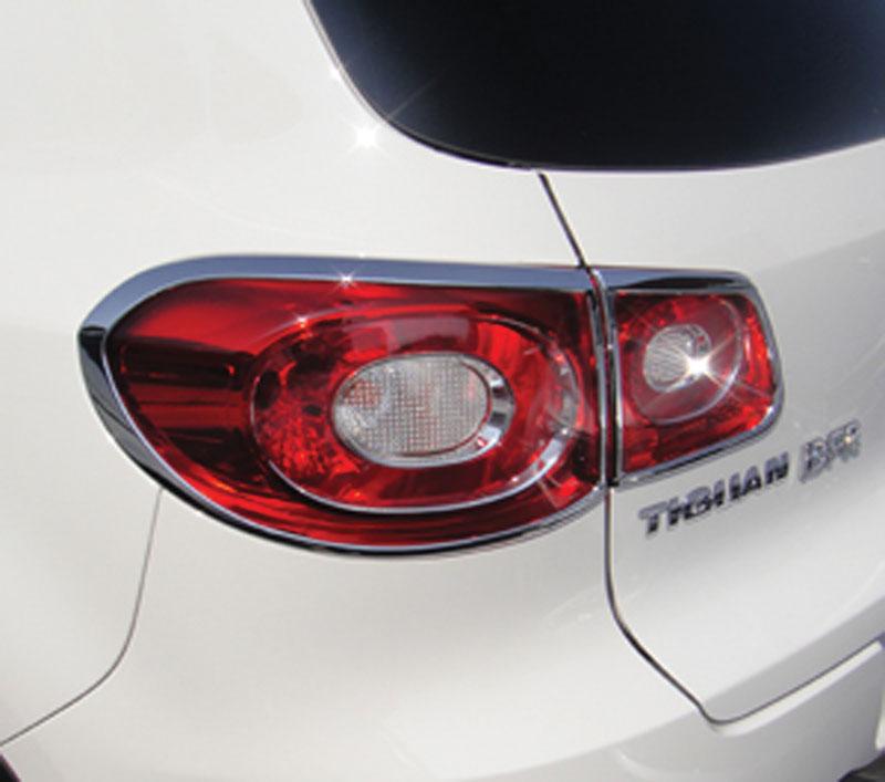 ABS Chrome Tail Light Bezel 2009 - 2011 Volkswagen Tiguan