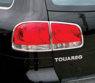 ABS Chrome Tail Light Bezel 2004 - 2010 Volkswagen Touareg
