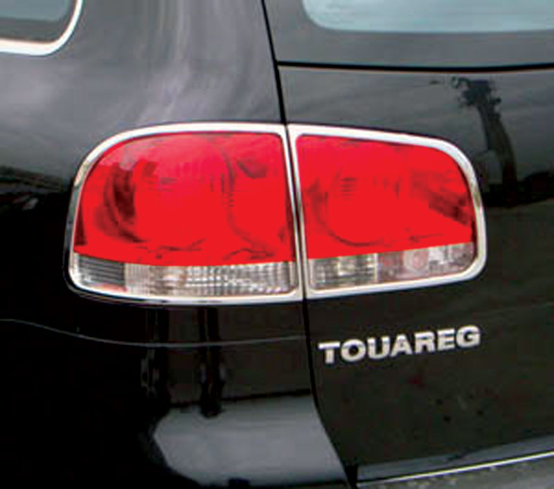 ABS Chrome Tail Light Bezel 2004 - 2010 Volkswagen Touareg