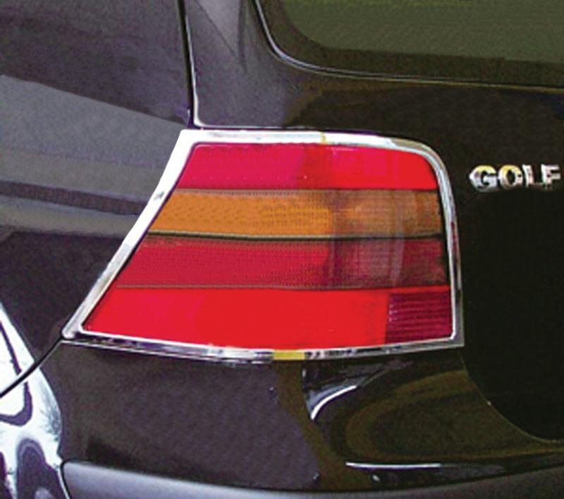 ABS Chrome Tail Light Bezel 1999 - 2005 Volkswagen Golf4 | GTI