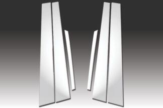 Mirror Finish Stainless Steel Pillar Post 6-Pc 1999 - 2003 Acura TL