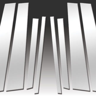 Mirror Finish Stainless Steel Pillar Post 6-Pc 2008 - 2010 BMW X3-E83