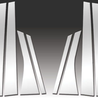Mirror Finish Stainless Steel Pillar Post 8-Pc 2005 - 2009 Buick LaCrosse