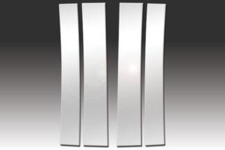 Mirror Finish Stainless Steel Pillar Post 4-Pc 2007 – 2014 Cadillac Escalade