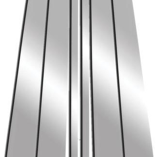 Mirror Finish Stainless Steel Pillar Post 6-Pc 2004 - 2009 Cadillac SRX