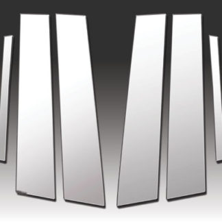 Mirror Finish Stainless Steel Pillar Post 8-Pc 2011 - 2014 Chrysler 200