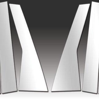 Mirror Finish Stainless Steel Pillar Post 6-Pc 2000 - 2010 Chrysler PT-Cruiser