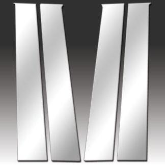 Mirror Finish Stainless Steel Pillar Post 4-Pc 2009 - 2016 Dodge Ram-CrewCab/QuadCab