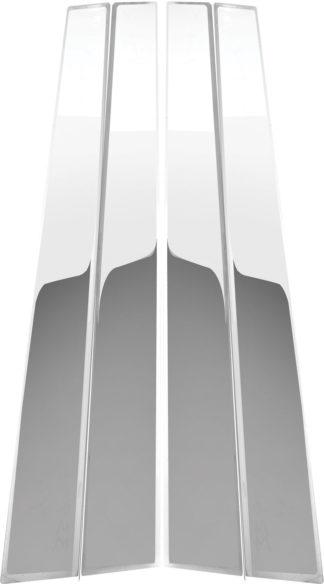 Mirror Finish Stainless Steel Pillar Post 4-Pc 1995 - 1999 Dodge Stratus