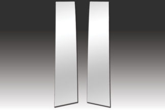 Mirror Finish Stainless Steel Pillar Post 2-Pc 2013 - 2016 Honda Accord-Coupe